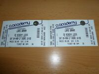 2x Lukas Graham tickets Leeds O2 Academy 4th March