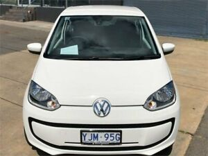 2012 Volkswagen UP! AA White 5 Speed Manual Hatchback Fyshwick South Canberra Preview