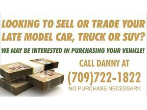 CONSIDERING SELLING YOUR TRUCK OR SUV???