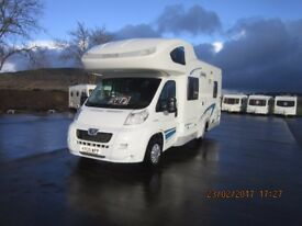 2009 HOME-CAR 581 6 BERTH REAR BUNK MOTORHOME WITH GARAGE ANDERSON MOTORHOME SALES