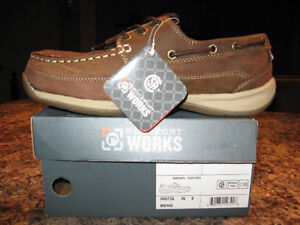 ROCKPORT WORKS MENS SHOES SIZE 9 Kitchener / Waterloo Kitchener Area image 1