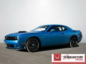 2016 Dodge Challenger R/T Scat Pack Coupe w/ Navigation, Leather