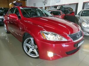 2008 Lexus IS250 Red Fury Sequential Auto Sedan Dandenong Greater Dandenong Preview