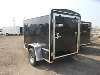 2015 QualiTec 5 x 8' Enclosed Avenger Wedge Round Top Trailer