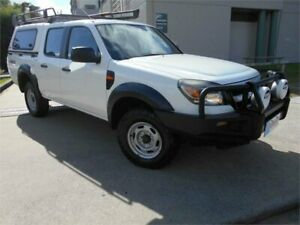 2011 Ford Ranger PK XL Crew Cab 4x2 Hi-Rider White 5 Speed Automatic Utility Southport Gold Coast City Preview