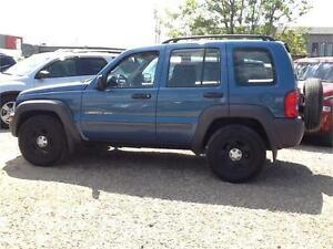 2003 Jeep Liberty Sport $5495 MIDCITY 1831 SASKATCHEWAN AVE