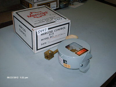 Mercoid Controls Mercury Control Switch Level Arm Mod 40-127-6 Nib