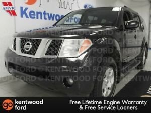 2006 Nissan Pathfinder SE with a sunroof and power drivers seat.