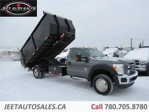 2011 Ford Super Duty F-550 XLT Reg Cab Dump Box 6.7L Diesel