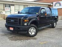 2009 Ford Super Duty F-250 4X4 DIESEL **ARE CAP-BED SLIDE**