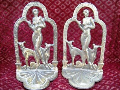 "Vintage ""ART DECO"" Book Ends   ""Deco"" to the Max  1920's"