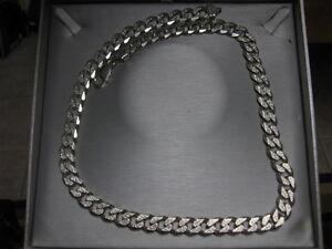 22'' 925 italy silver necklaces
