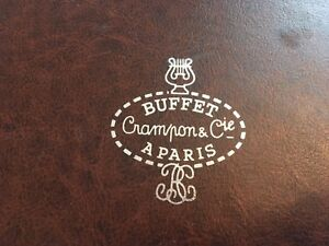 Buffet Crampon & Cie A Paris Professional Clarinet