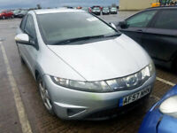 HONDA CIVIC 1.4 2009 BREAKING FOR SPARES TEL 07814971951 HAVE FEW IN STOCK
