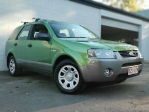 2004 Ford Territory SX TX AWD Green 4 Speed Sports Automatic Wagon Ashmore Gold Coast City Preview