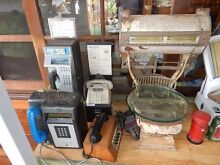 Large selection of phones signs  collectibles petrol items ,more Smithfield Parramatta Area Preview