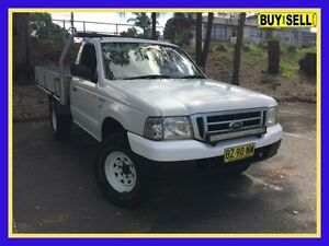 2005 Ford Courier PH (Upgrade) GL White Manual Cab Chassis Lansvale Liverpool Area Preview
