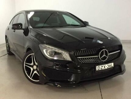2016 Mercedes-Benz CLA200 X117 806MY Shooting Brake DCT Black 7 Speed Sports Automatic Dual Clutch Chatswood Willoughby Area Preview