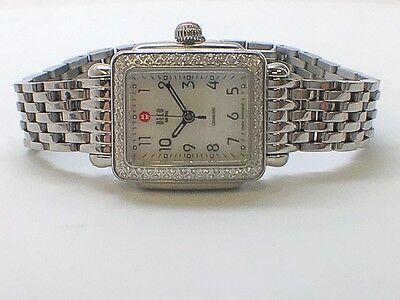 Michelle Deco Diamond Women's Watch MW06D01A1025 .36 TCW