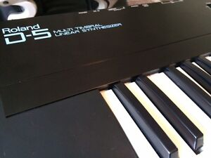Roland D5 Multi-timbral Linear Synthesizer Kitchener / Waterloo Kitchener Area image 5