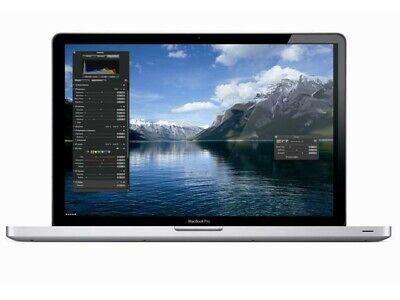 "✅ Apple Macbook pro 17"" Mitte 2010 i5 2,53GHz 8GB RAM 512GB SSD, usado segunda mano  Embacar hacia Argentina"