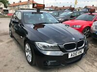 2010 BMW 3 Series 2.0 320i M Sport 4dr, AUTOMATIC, LOW MILEAGE, RED LEATHER INTERIOR, FACELIFT,