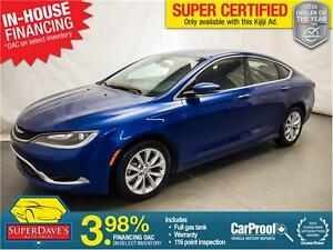 2015 Chrysler 200 200C *Warranty*