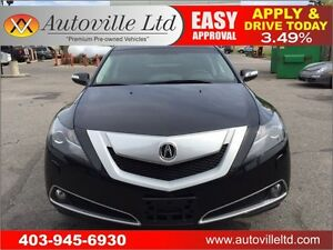 2010 ACURA ZDX BACKUP CAMERA LEATHER 90 DAYS NO PAYMENTS
