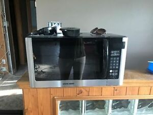 Stainless Steel Counter top microwave