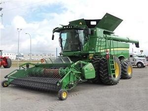 2012 John Deere S690, Loaded, 868hrs sep, 650/38 duals, 615P