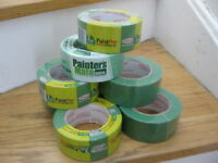 Painter's Tape,  1.41 inch x 60 yds., Green 10 pcs -  10$