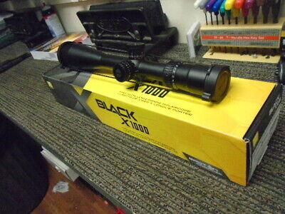 Nikon Black X1000 scope 6-24x50SF Matte IL X-MRAD  Brand new!!! #16384