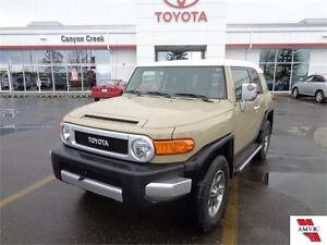 2011 Toyota FJ Cruiser OFFROAD PACKAGE DEALER MAINTAINED
