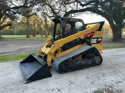 Caterpillar 287d Skid Steer Loader - Joysticks - 2 Speed - Pre Def