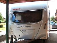 2005 Dethleffs DL470 2 Birth Touring Caravan