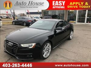 2015 AUDI A5 TFSI TECHNIK QUATTRO NAVIGATION BACKUP CAMERA