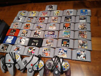 Lots of N64 games, consoles, controllers, paks, rare games
