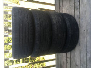 Four P205/60R16 Summer Tires