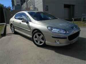 2005 Peugeot 407 ST HDi Comfort Gold 4 Speed Sports Automatic Sedan Southport Gold Coast City Preview