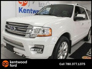 2016 Ford Expedition Limited MAX 4WD ecoboost with NAV, sunroof,