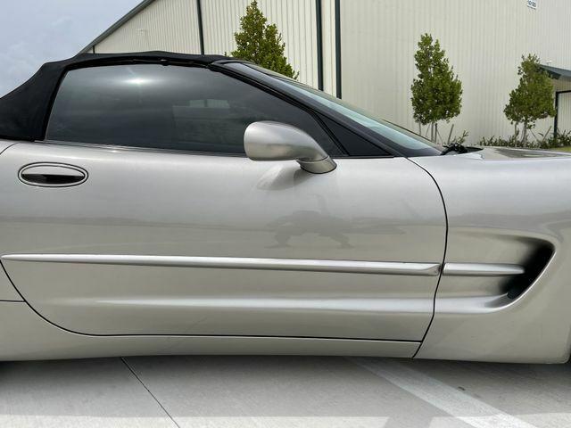 2002 PEWTER MATALIC Chevrolet Corvette Convertible    C5 Corvette Photo 10