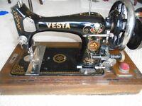 SEWING MACHINE VESTA HAND Fly Wheel