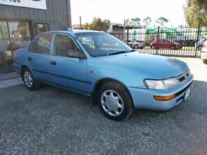 1998 Toyota Corolla AE102R Conquest Blue 4 Speed Automatic Sedan Bayswater North Maroondah Area Preview