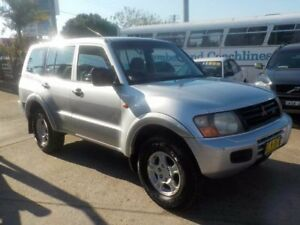 2001 Mitsubishi Pajero NM MY2002 GLX Silver 5 Speed Sports Automatic Wagon North St Marys Penrith Area Preview
