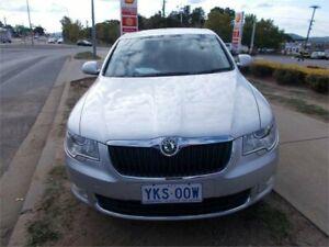 2009 Skoda Superb 3T 1.8 TSI Elegance Silver 7 Speed Auto Direct Shift Hatchback Fyshwick South Canberra Preview