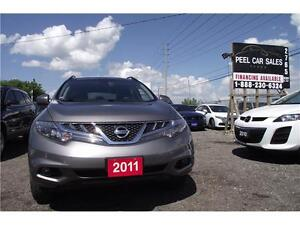 2011 Nissan Murano SL**LEATHER*AWD**3 YEARS WARRANTY INCLUDED**