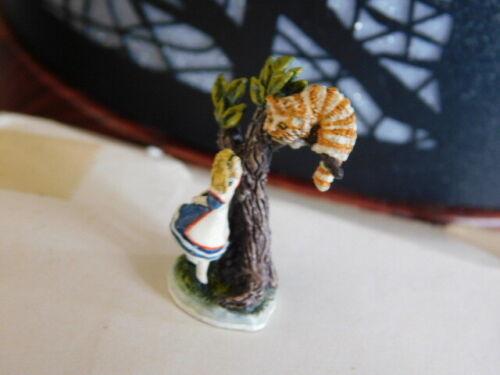 "Robert Olszewski & Goebel Miniature Co. Alice In Wonderland ""Cheshire Cat"""