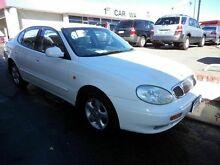 2000 Daewoo Leganza Auto LOW KMS White 4 Speed Automatic Sedan Victoria Park Victoria Park Area Preview
