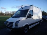 VOLKSWAGEN CRAFTER 35 MWB TDI - HIGH ROOF WITH FRAIL, White, Manual, Diesel, 200