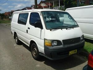 2003 Toyota Hiace RZH103R White 4 Speed Automatic Van Canada Bay Canada Bay Area Preview